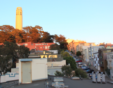 Sunset on Coit Tower