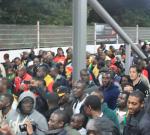 My First Football Match: Ghana v Brazil in London