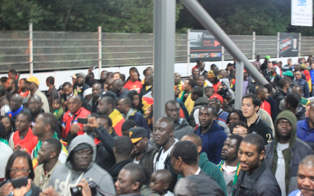 My First Football Match: Ghana v Brazil in London