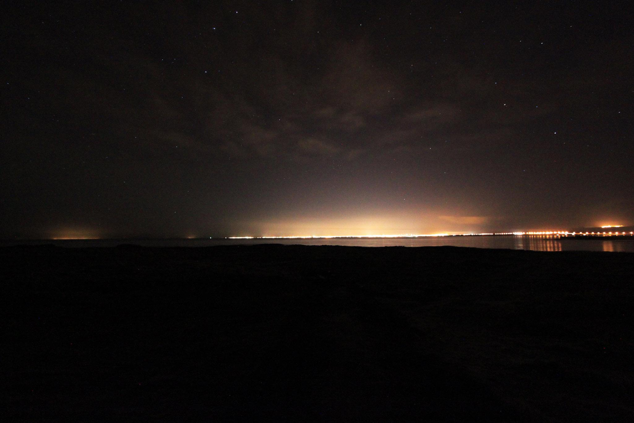 Lights of Reykjavik