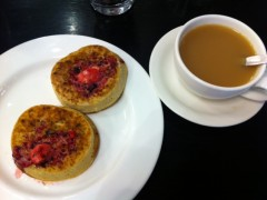 """After getting my order I realized crumpets weren't what I thought they were. Turns out, they're like a much fresher/yummier """"English Muffin"""" as known in the states."""
