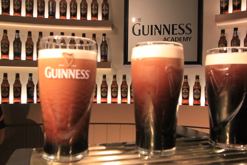 I drank so. Much. Guinness. And learned how to pour the perfect pint at the Guinness Academy.