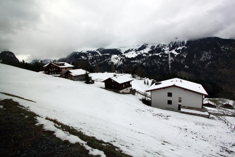 Heading up to Jungfraujoch