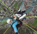 VIDEO: PARAGLIDING OVER THE ALPS IN INTERLAKEN