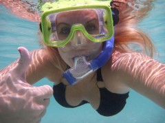 Snorkeling in the British Virgin Islands