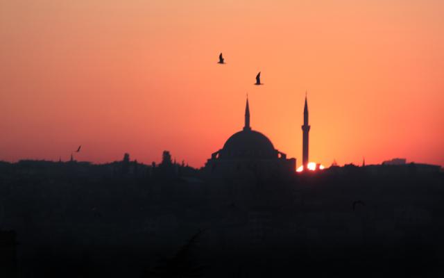 MY FIRST TASTE OF TURKEY