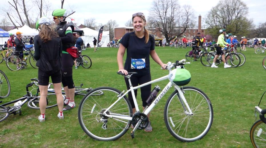 Biking Through Nyc On The Five Boro Bike Tour