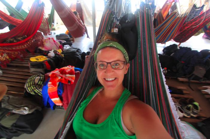 Dirty hammock selfie